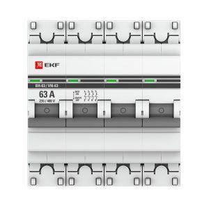 08.04 Выключатели нагрузки ВН-63, ВН-125 EKF PROxima